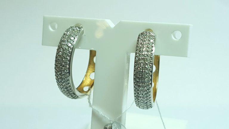 2 тренд - серьги конго и кольца фото 2