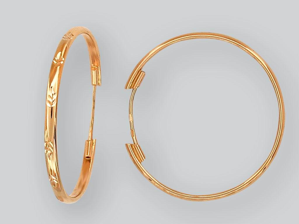 2 тренд - серьги конго и кольца фото 4