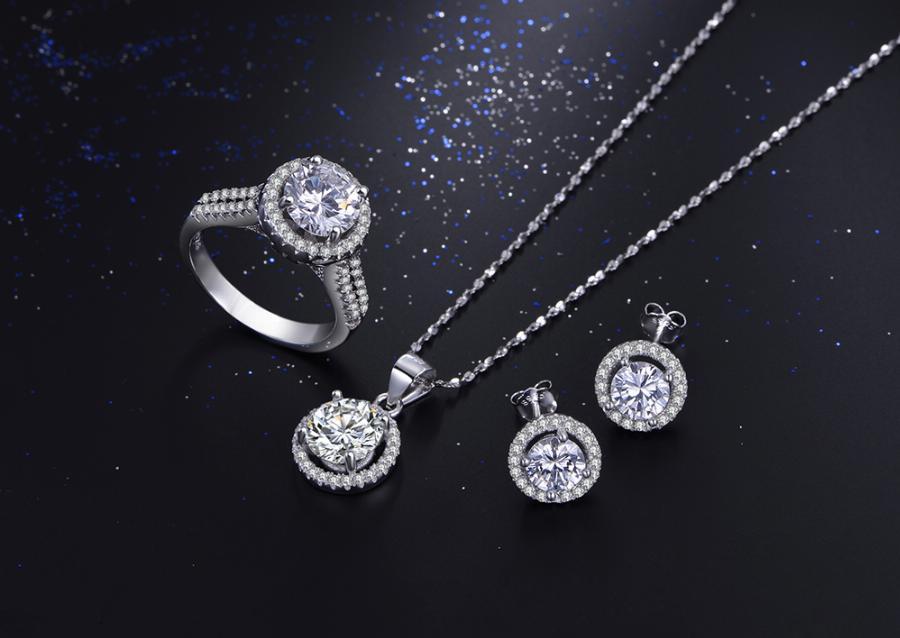 5 тренд - украшения из белого золота, серебра и платины фото 3