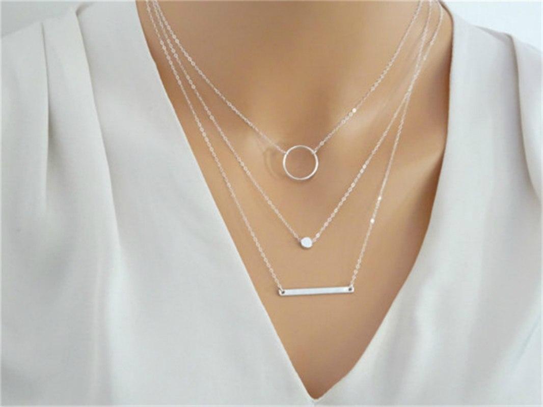 5 тренд - украшения из белого золота, серебра и платины фото 5