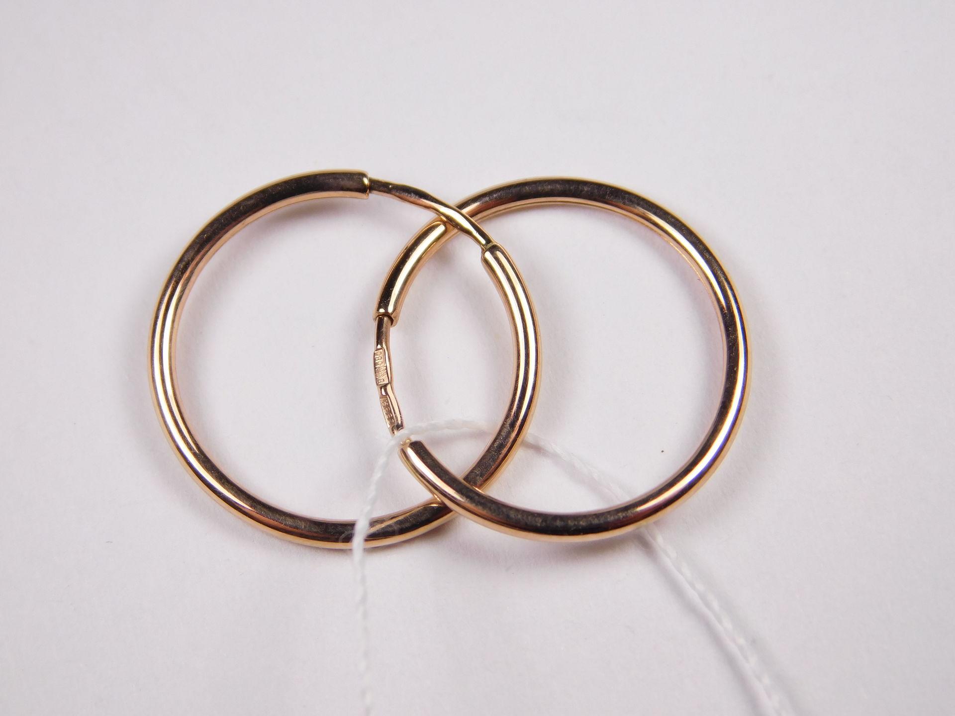 2 тренд - серьги конго и кольца фото 1