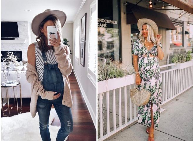 мода для беременных весна-лето 2019 фото 4
