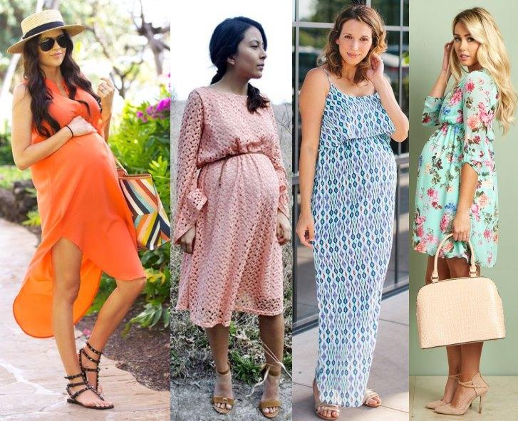 мода для беременных весна-лето 2019 фото 10