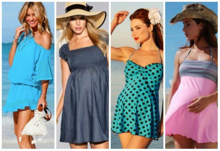 пляжная мода для беременных 2019 фото 1