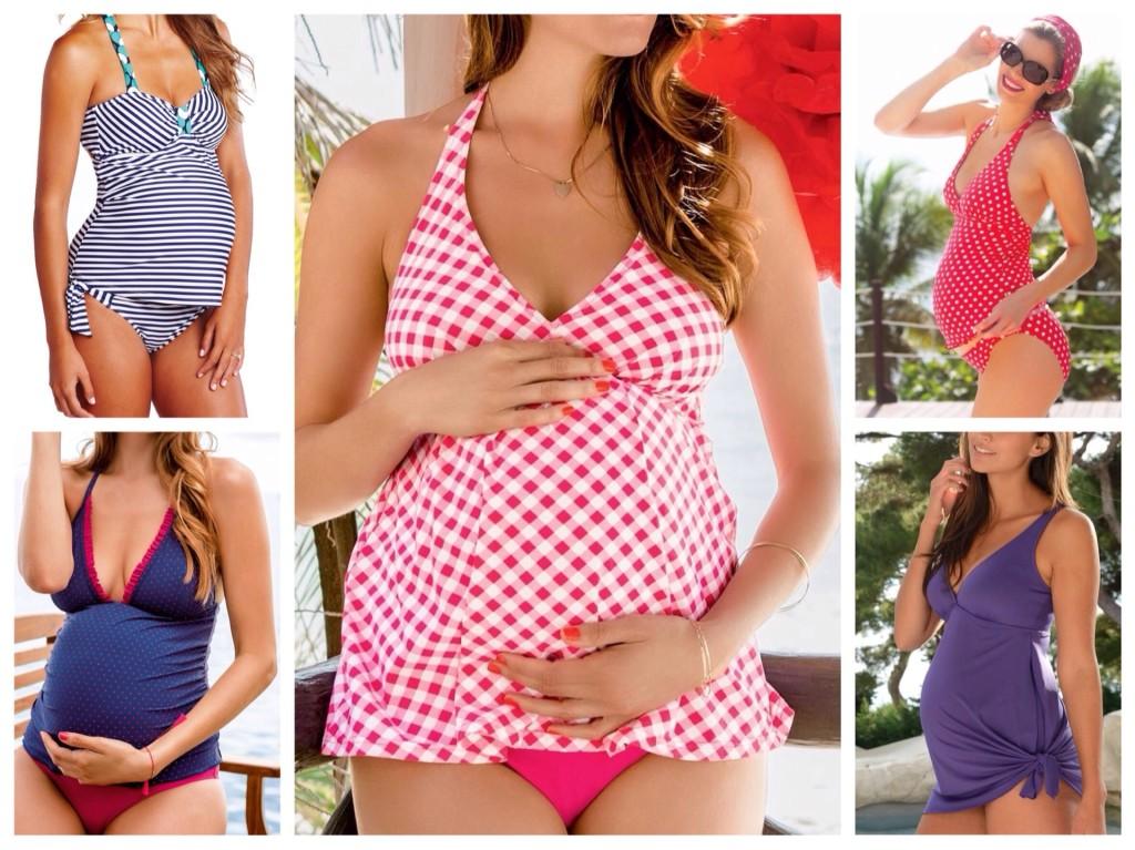 пляжная мода для беременных 2019 фото 2