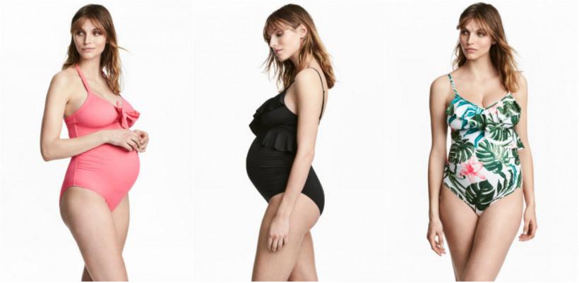 пляжная мода для беременных 2019 фото 4