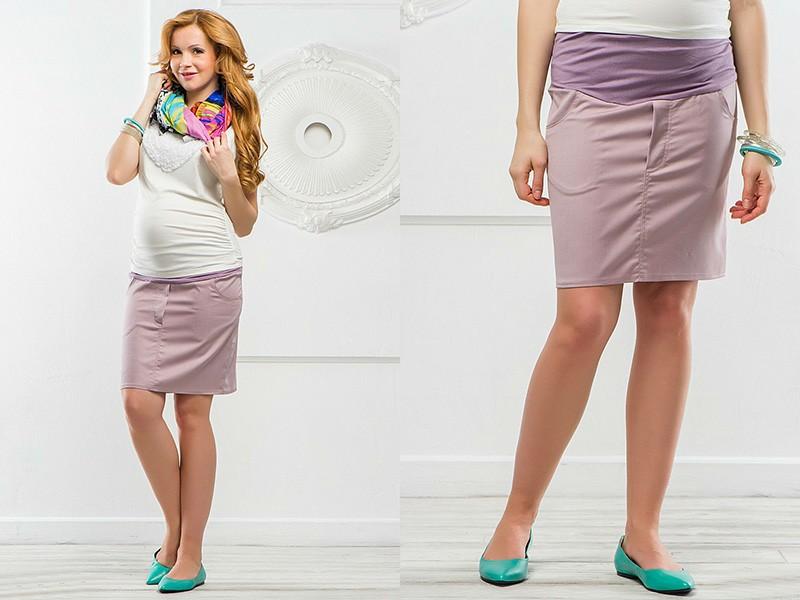 платья и юбки в пол для беременных, модные тенденции 2019 фото 7