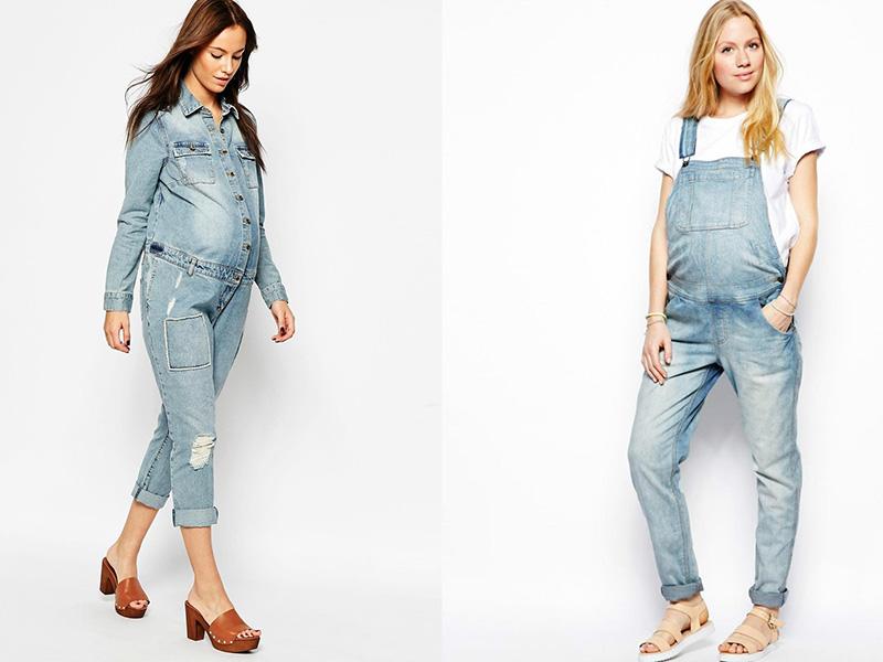 модные и стильные комбинезоны для беременных 2019 фото 3