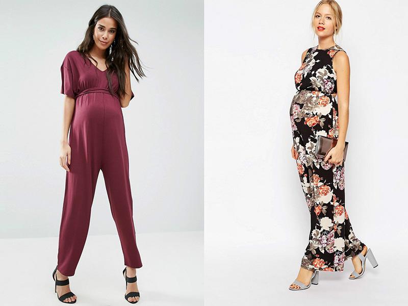 модные и стильные комбинезоны для беременных 2019 фото 4