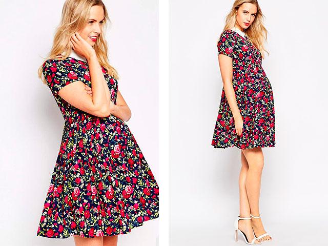 модные платья для беременных весна-лето 2019 фото 1