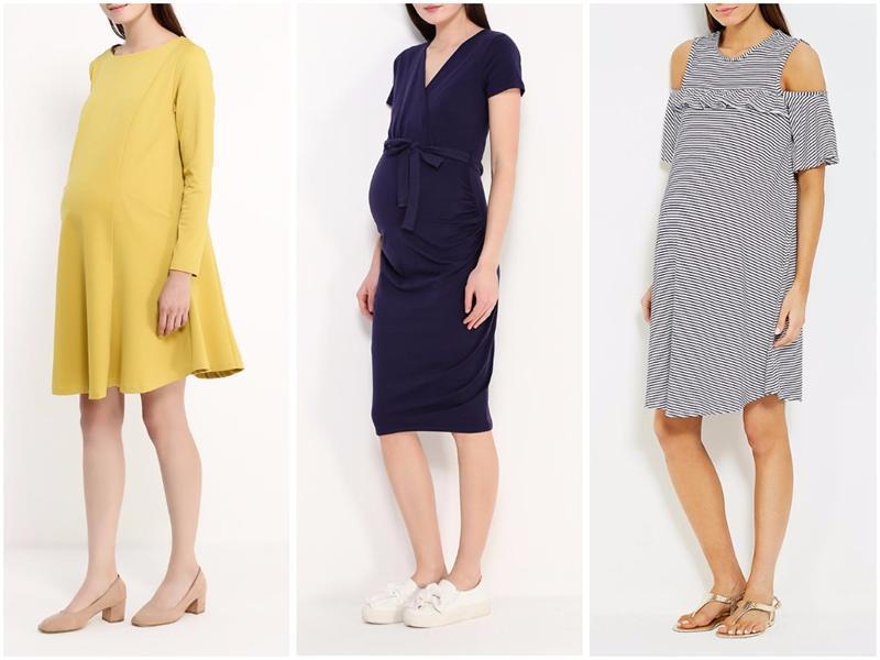 модные платья для беременных весна-лето 2019 фото 2