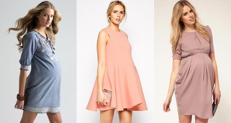 модные платья для беременных весна-лето 2019 фото 7