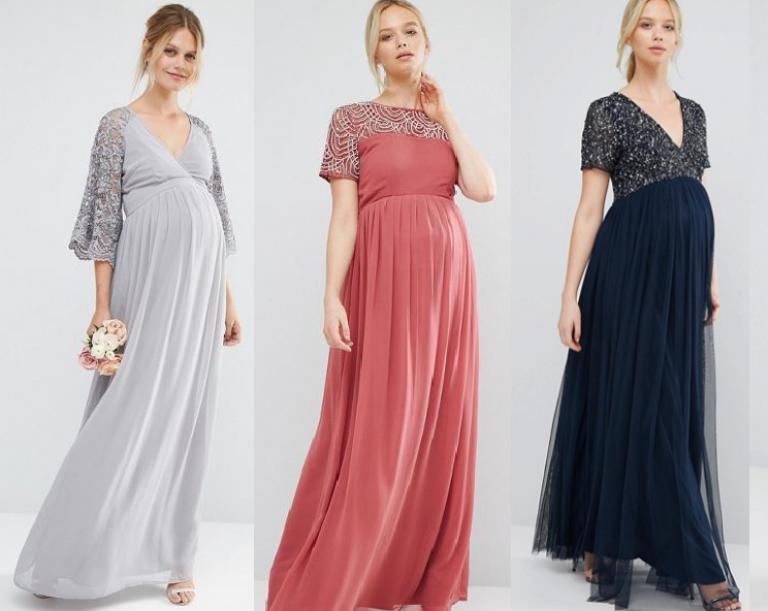 модные платья для беременных весна-лето 2019 фото 8