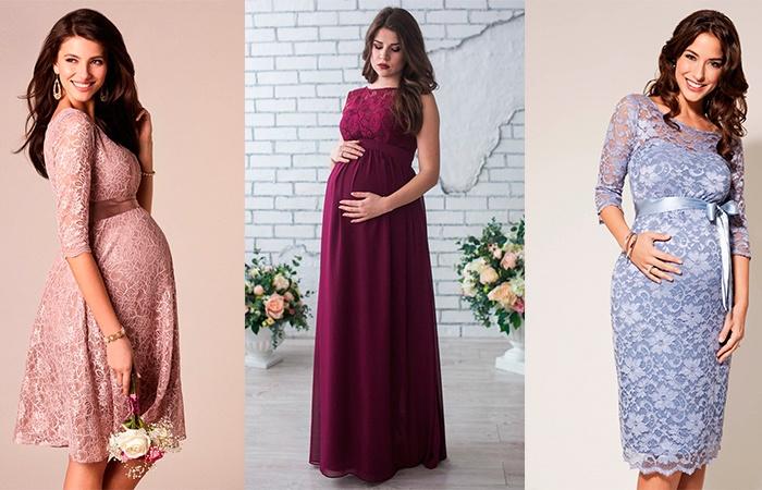 модные платья для беременных весна-лето 2019 фото 10