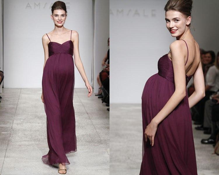 модные платья для беременных весна-лето 2019 фото 11