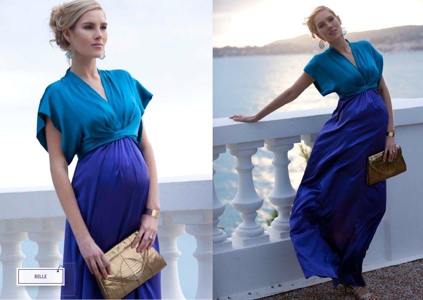 модные платья для беременных весна-лето 2019 фото 12