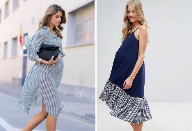 мода для беременных женщин весна-лето 2019, фото 3