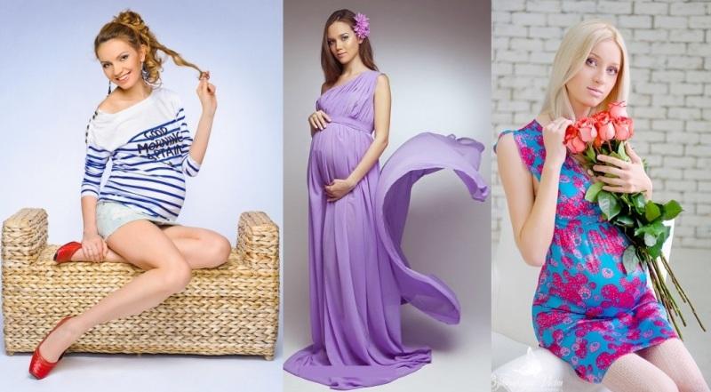 мода для беременных женщин весна-лето 2019, фото 7