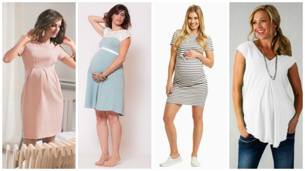 мода для беременных весна-лето 2019 фото 2