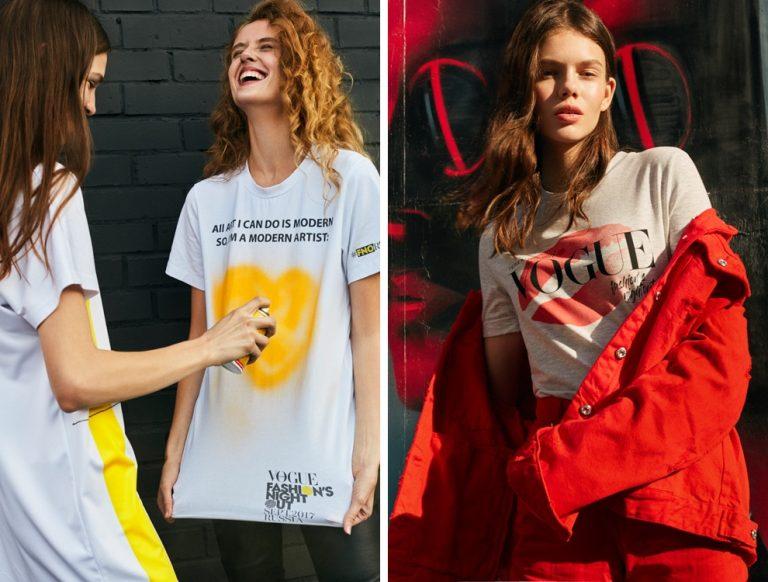 cамые модные футболки, топы и майки весна-лето 2019