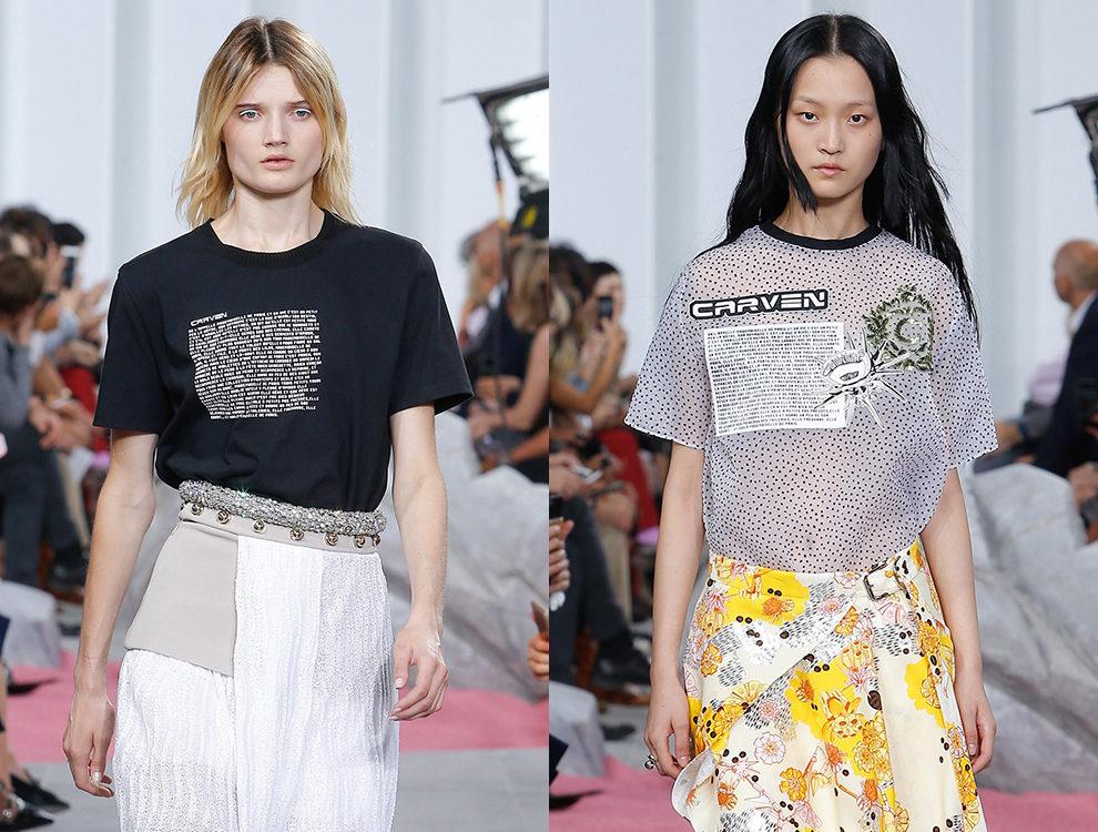 самые модные футболки, топы и майки весна-лето 2019 фото 7