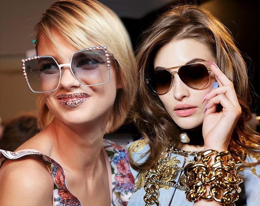 модные женские солнцезащитные очки весна-лето 2019