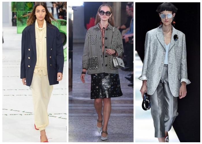 модные пиджаки и жакеты весна-лето 2019, модные тенденции и тренды на фото 5