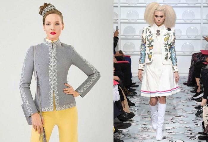 модные пиджаки и жакеты весна-лето 2019, модные тенденции и тренды на фото 9