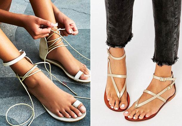 модные сандалии, шлепанцы и вьетнамки весна-лето 2019