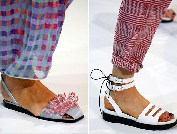 модные сандалии лето 2019, фото новинки 11