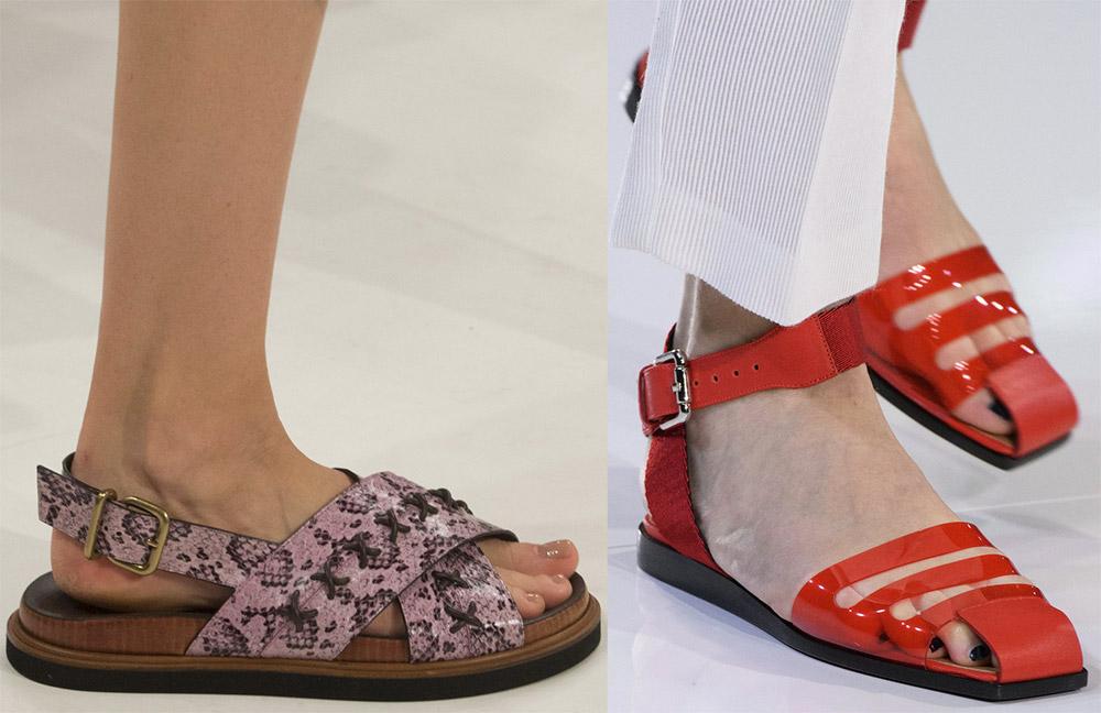 модные сандалии лето 2019, фото новинки 3