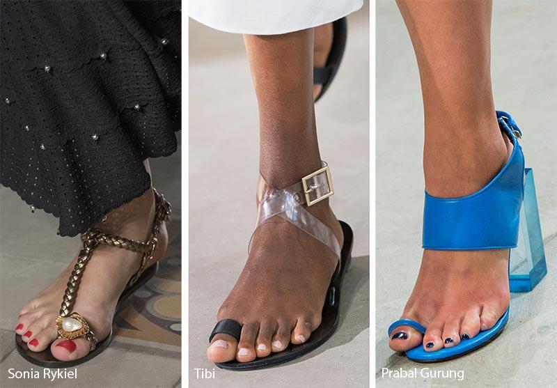 модные сандалии лето 2019, фото новинки 4