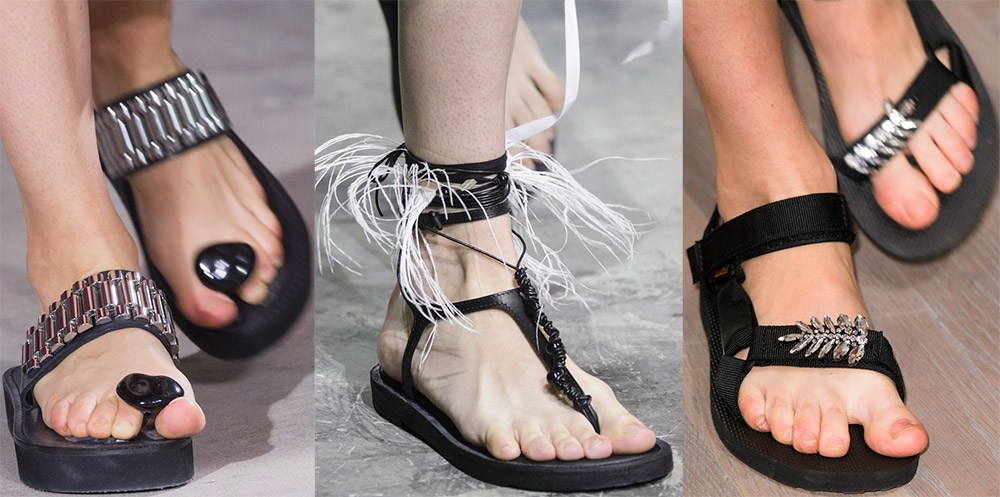 модные сандалии лето 2019, фото новинки 6