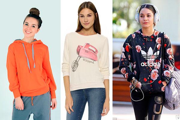 модные женские свитшоты и лонгсливы весна-лето 2019, фото 4