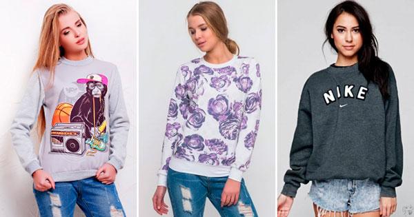 модные женские свитшоты и лонгсливы весна-лето 2019, фото 6