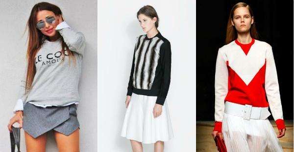модные женские свитшоты и лонгсливы весна-лето 2019, фото 9