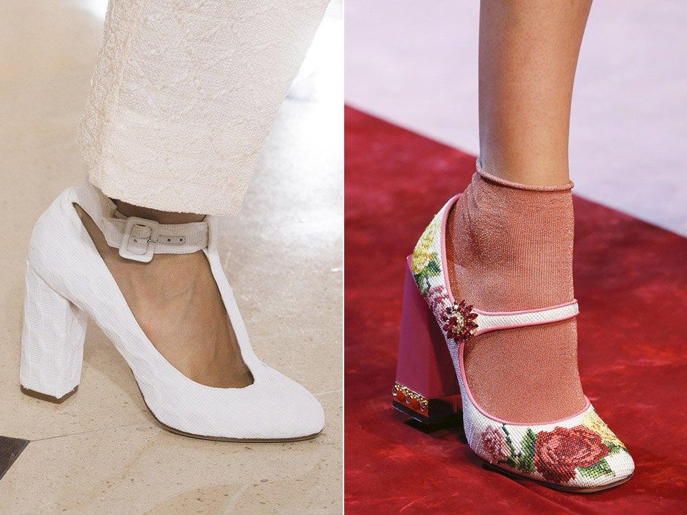 модные туфли сезона весна-лето 2019