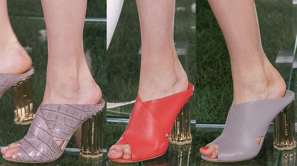 2 тренд - туфли-мюли фото 3