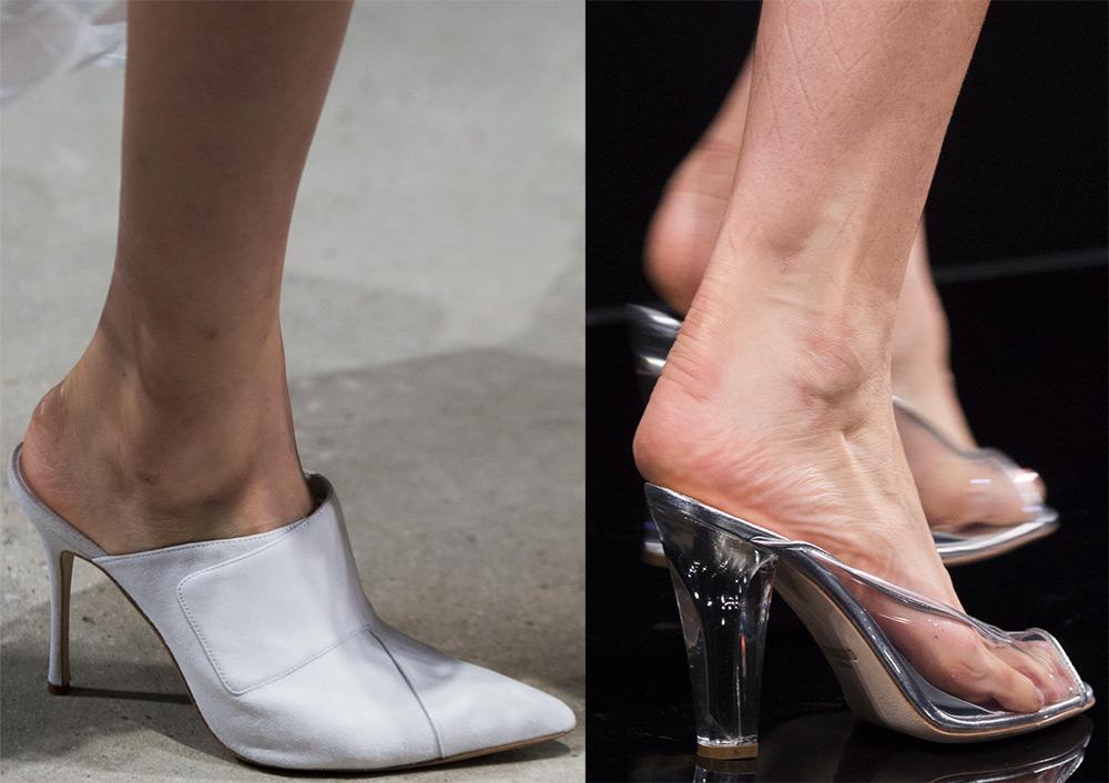 2 тренд - туфли-мюли фото 1