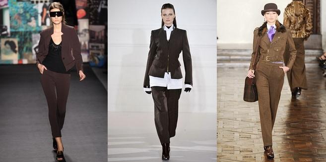 4 тренд - бежевые и коричневые костюмы фото 3